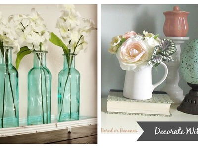 Vlog:  Breaking out the Spring Decor!
