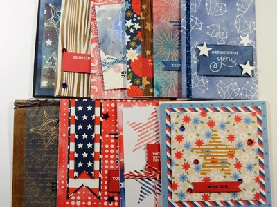 10 Cards 1 Kit | August 2016 Simon Says Card Kit | Seeing Stars