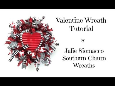 2017 Valentine Wreath Tutorial by Southern Charm Wreaths