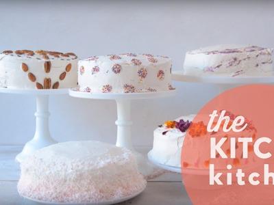 5 Easy No-Skill Cake Decorating Ideas. The Kitchy Kitchen