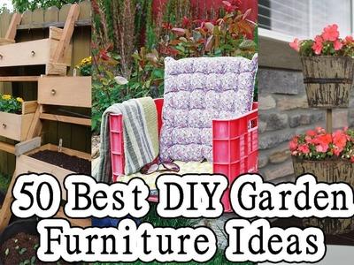 50 Best DIY Garden Furniture Ideas