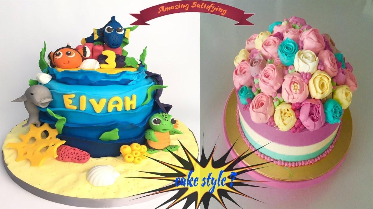 Amazing Cakes Decorating Tutorials - CAKE STYLE 2017 ...
