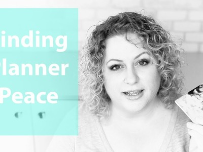 Chic Sparrow || How to find planner peace