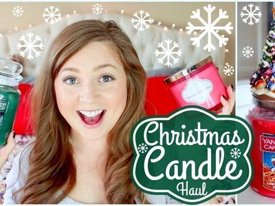 Christmas Candle Haul! ❄HolidAMY Day 2 | 2016❄