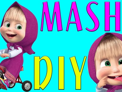 Clay And Toy For Kid - How To Make Masha And The Bear - Claytohe