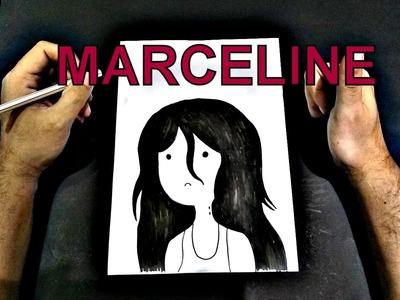 Como desenhar marceline , how to draw A MARCELINE, como dibujar A MARCELINE