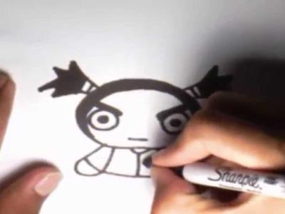 Como dibujar a Garu l How to draw Garu