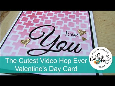 Cutest Blog Hop Ever:  Valentine's Day Card by Eva