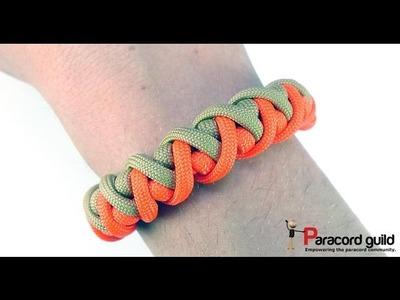 Cyclone wrap paracord bracelet