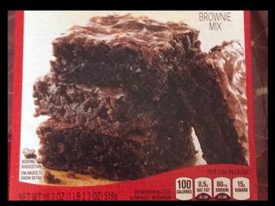 D.i.y Brownies ????????????????