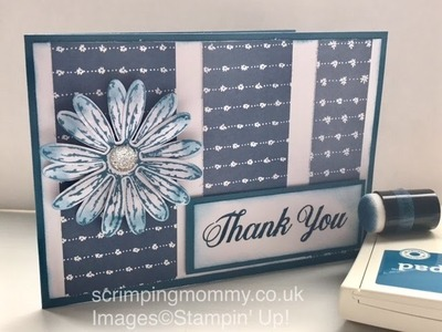 Daisy Delight off the cuff crafting Stampin' Up! products