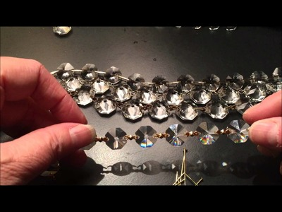 Different Types of Pinning in Chandelier Crystal