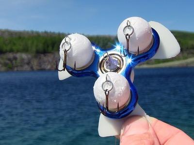 DIY Fishing Fidget Spinner - How To Make