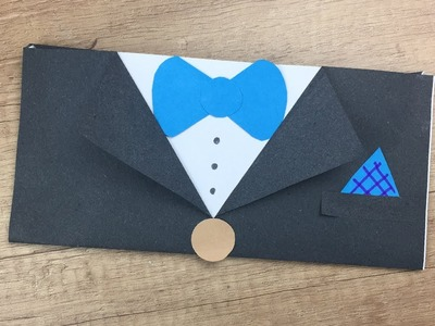 DIY for Father's day - Suite like Envelope for picture or nice gift from your kids