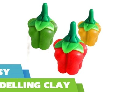 #DIY How to make clay vegetables fruits  - Quick and easy clay modeling for kids