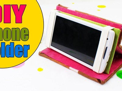 DIY PHONE CASE & PHONE HOLDER TUTORIAL
