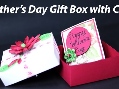 Easy Mother's Day Box Card - Homemade Mother's Day Gift Box with Card