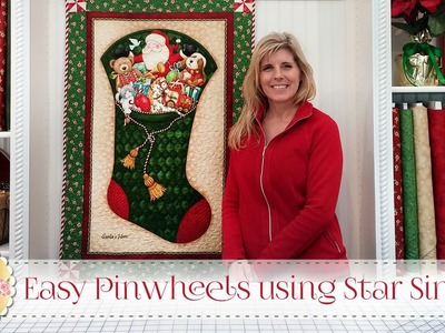 Easy Pinwheels using Star Singles   with Jennifer Bosworth of Shabby Fabrics