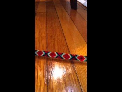Embroidery bracelets and huge 100 string bracelet! :)