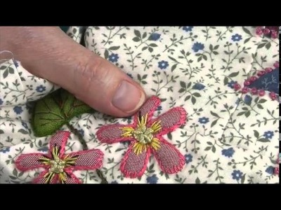 "ENGLISH version - Mystery Quilt 2015 : ""COLMAR"" by La Fée Pirouette - Block 4 video 2.2"