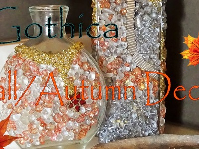 Fall.Autumn & ThanksGiving gifts and  Decor   Vases Gothica