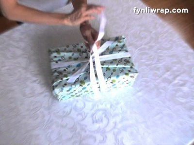 Fynli Reusable Gift Wrap - How To Wrap a Shoe Box