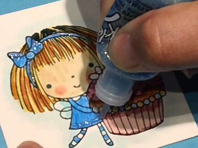 """Happy Birthday with Penny Black's """"Sweet Things"""" Stamp"""