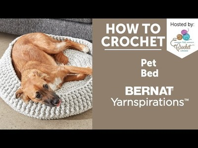 How to Crochet a Pet Bed