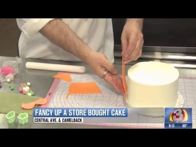How to jazz up a store bought cake - Kick Ass Kakes