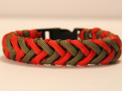 How to Make a Cross Hitch Variation Paracord Bracelet