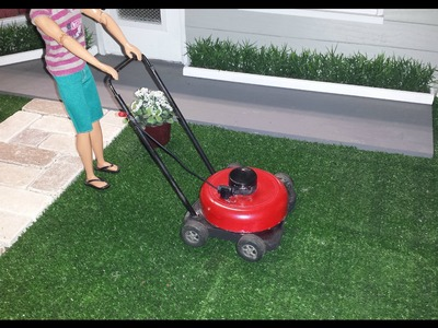 How to make a Doll Lawn Mower