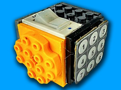 How to Make a Fidget Cube with Lego. DIY Fidget toy