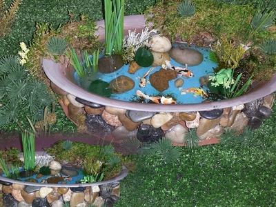 How to make a Koi Fish Pond