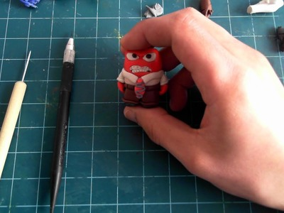 How to make Anger from Inside out with clay!