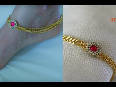 How To Make Anklets At Home