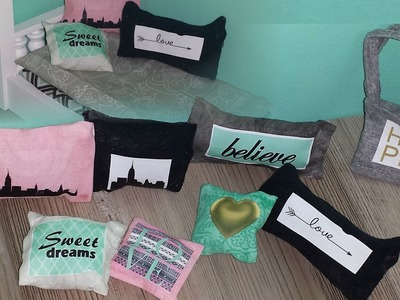 How to make Doll Custom Pillow Designs and Bag