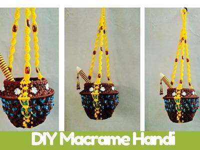 How to make Macrame tutorial of Macrame Handi | Macrame Art