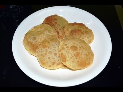 How to Make Soft Luchi (তুল তুলে নরম লুচী) with English Subtitle.