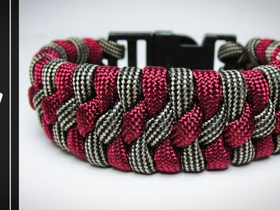 How to make The Modified Trilobite Paracord Bracelet With Buckle [UWA ORIGINAL] [Tutorial]