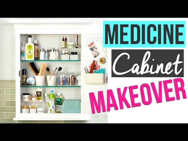 HOW TO ORGANIZE YOUR MEDICINE CABINET | DOLLAR TREE ORGANIZATION 2017 | Page Danielle