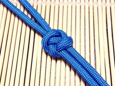 How to Tie a Flat Square Knot Tutorial (ABOK #804)