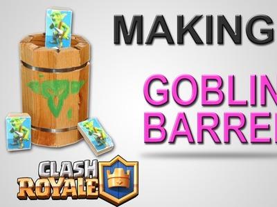 Make a REAL LIFE Goblin Barrel | Clash Royale | DIY Tutorial Guide