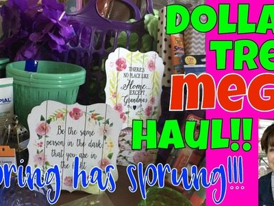???????????? MEGA DOLLAR TREE HAUL - GIGANTOR! NEW NEW NEW Do-it-Yourself DollarTree Stuff Let's Do This!!