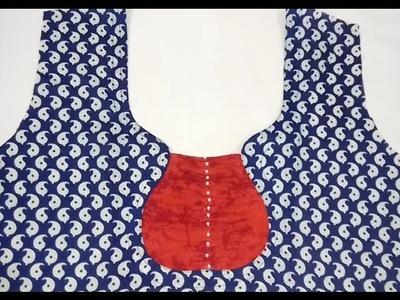 Neck Design Cutting & Stitching   Neck Design for Kurtis