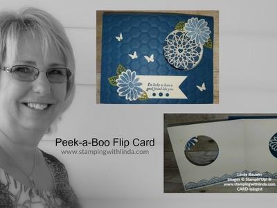 Peek-a-Boo Flip Card