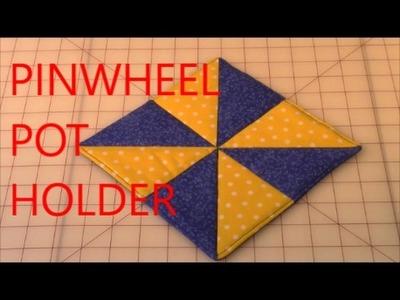 Pinwheel Pot Holder