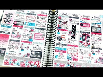 Plan as I Go: Tinsel ft. Scribble Prints Co. 25 Spreads of Christmas!