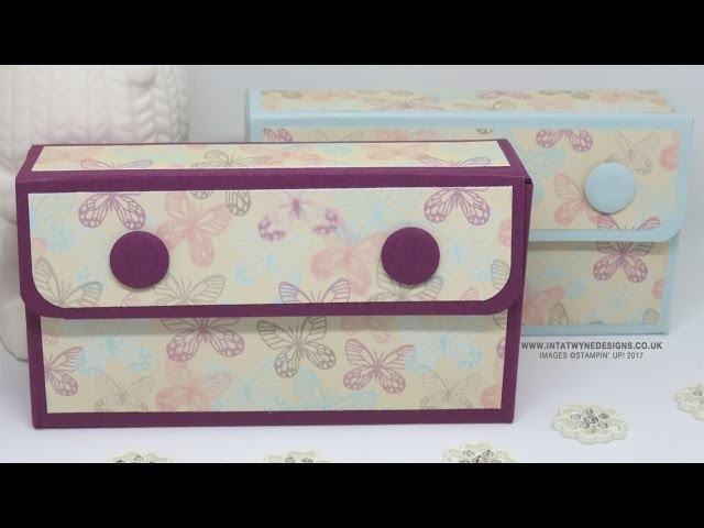 Pocket Tissue Purse made with the NEW Falling in Love DSP