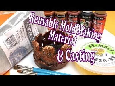 Reusable mold making material and casting