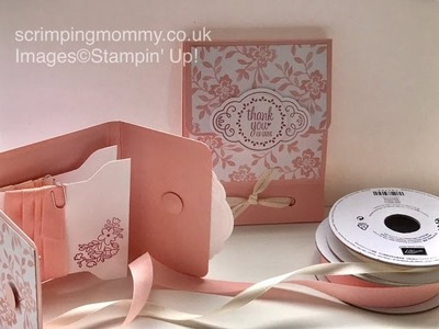 Ribbon spool holder gift Stampin' Up! products